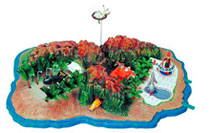 Image: Tracy Island Model Kit  - Thunderbirds