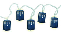 Image: Doctor Who Tardis String Lights  -