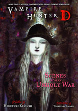 Image: Vampire Hunter D Novel Vol. 20: Scenes of an Unholy War SC  - Dark Horse Comics