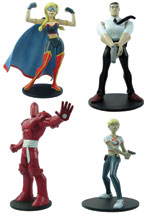 Image: Powers Figure Set  - Dark Horse Comics