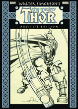 Image: Walter Simonson's The Mighty Thor Artist's Edition HC  (new printing) - IDW Publishing