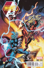 Image: Mighty Avengers #2 (Infinity) (Thor Battle variant cover) - Marvel Comics
