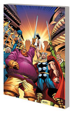 Image: Thor: The Warriors Three - The Complete Collection SC  - Marvel Comics