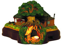 Image: My Neighbor Totoro: Kusakabe House Diorama  -