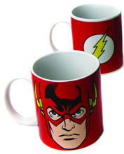 Image: DC Comics 12-ounce Coffee Mug: Flash Face  -