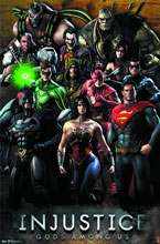 Image: DC Poster: Injustice Grid  (22x34) -