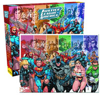 Image: Justice League of America 1000 Piece Jigsaw Puzzle  -