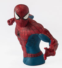 Image: Spider-Man Previews Exclusive Bust Bank  -