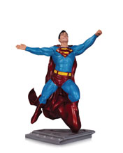 Image: Superman: The Man of Steel Statue by Gary Frank  - DC Direct