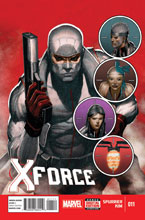 Image: X-Force #11 (2014) - Marvel Comics