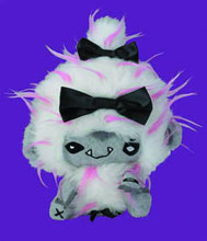Image: Vamplets Plush: Roari Snow Abominable Snowbaby  - Action Lab Entertainment