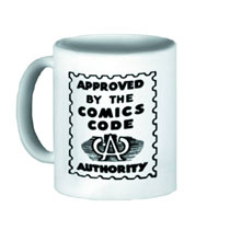 Image: Approved by the Comics Code Authority Ceramic Mug  -