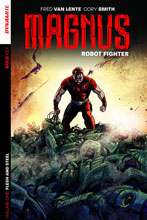 Image: Magnus: Robot Fighter Vol. 01: Flesh & Steel SC  - Dynamite