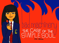 Image: Bad Machinery Vol. 03: The Case of the Simple Soul GN  - Oni Press Inc.
