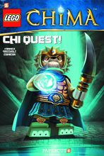 Image: Lego: Legends of Chima Vol. 03 - Chi Quest! SC  - Papercutz