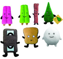 Image: Mr. Toast 16-Piece Plush DS Version 05  -