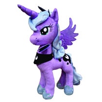 Image: My Little Pony Aurora Plush: Princess Luna  -