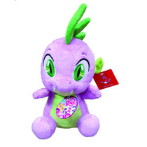 Image: My Little Pony Aurora Plush: Spike the Dragon  (10-inch) -