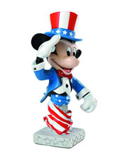 Image: Grand Jester Mini-Bust: Patriotic Mickey  -