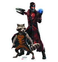 Image: Guardians of the Galaxy Life-Size Standup: Starlord & Rocket  -