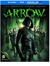 Image: Arrow: The Complete Second Season BluRay+DVD  -