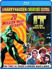 Image: Ray Harryhausen Creature Double-Feature BluRay  -