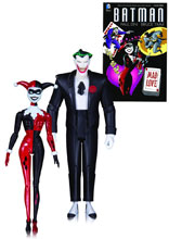 Image: Batman Mad Love Action Figure 2-Pack: The Joker & Harley Quinn  - DC Comics