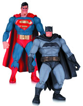 Image: Batman: The Dark Knight Returns 2-Pack Action Figure Set: Batman & Superman  - DC Comics