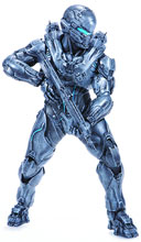 Image: Halo 5 Guardians Spartan Locke 10-inch Deluxe Action Figure Case  -
