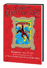 Image: Marvel Masterworks Vol. 228: Daredevil Nos. 97-107, The Avengers No. 111 HC  - Marvel Comics