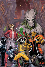 Image: Guardians of the Galaxy by Adams Poster  - Marvel Comics