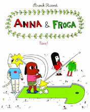 Image: Anna & Froga: Fore! HC  - Drawn & Quarterly