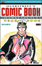 Image: Overstreet's Comic Book Marketplace Yearbook 2015 - 2016 SC  (Corto Maltese cover) - Gemstone Publishing