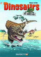 Image: Dinosaurs Vol. 04: A Game of Bones HC  - Papercutz
