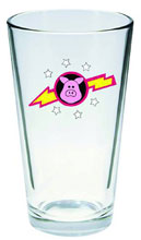 Image: Muppet Show Pint Glass: Pigs in Space  -