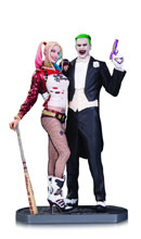 Image: Suicide Squad Movie Statue: Joker & Harley Quinn  - DC Comics