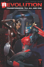 Image: Transformers: Till All Are One: Revolution #1 (incentive cover - Ken Christiansen) (10-copy)  [2016] - IDW Publishing