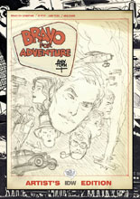Image: Alex Toth's Bravo for Adventure Artist's Edition HC  - IDW Publishing