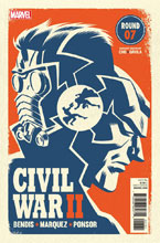 Image: Civil War II #7 (variant cover - Michael Cho)  [2016] - Marvel Comics