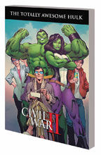 Image: Totally Awesome Hulk Vol. 02: Civil War II SC  - Marvel Comics
