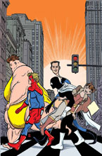 Image: Great Lakes Avengers #1 by Allred Poster  - Marvel Comics
