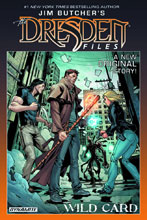 Image: Jim Butcher's The Dresden Files: Wild Card Signed HC  - Dynamite