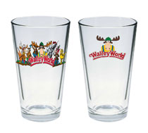 Image: National Lampoon's Vacation Pint Glass: Walley World  - Diamond Select Toys LLC