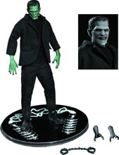 Image: One-12 Collective Previews Exclusive Action Figure: Frankenstein  (color version) - Mezco Toys