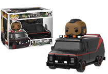 Image: POP! Rides 25:The  A-Team Van with B. A. Baracus  - Funko