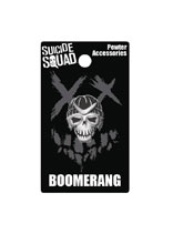 Image: Suicide Squad Pewter Lapel Pin: Boomerang  - Monogram Products