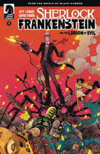 Image: Sherlock Frankenstein & Legion of Evil  #1 (Web Super Special) - Dark Horse Comics