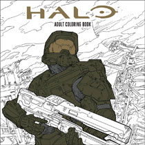 Image: Halo Adult Coloring Book SC  - Dark Horse Comics