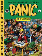 Image: EC Archives: Panic Vol. 02 HC  - Dark Horse Comics