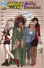 Image: Harley & Ivy Meet Betty & Veronica #1 (variant cover - Adam Hughes) - DC Comics